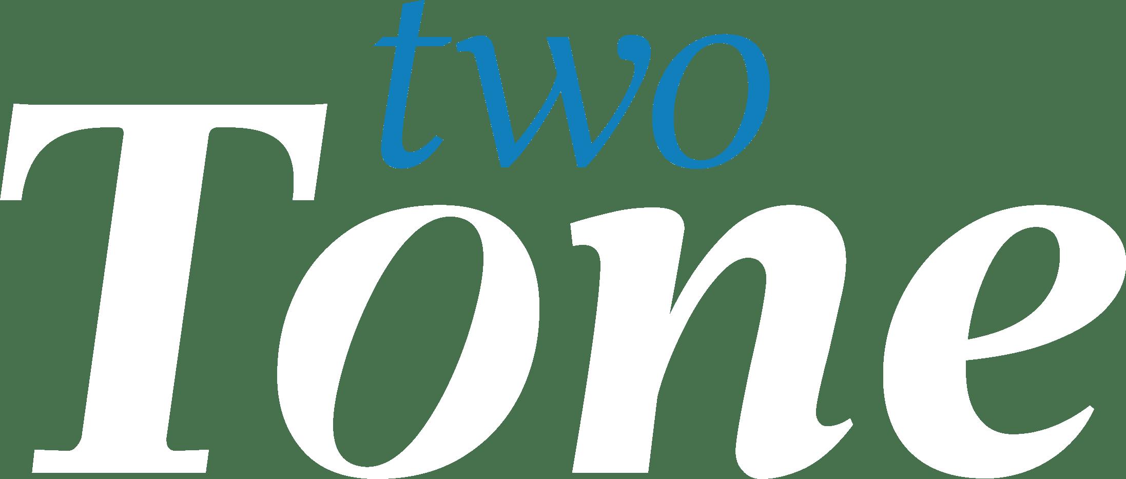 Twotone Logo white
